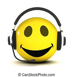 helpdesk, smiley, 3
