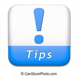 helpful tips button - tips helpful tip and trick hot idea ...