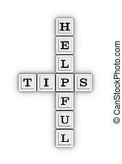 Helpful Tips Crossword Puzzle.