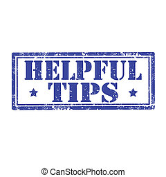 Helpful Tips-stamp