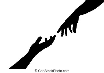 helping hands hands holding a broken hearth care and compassion rh canstockphoto com helping hands clip art photos helping hands border clip art
