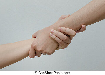 Helping Hands ,hand in hand relationship
