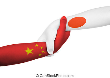 Helping hands of China and Japan