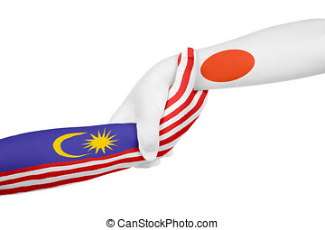 Helping hands of Malaysia and Japan