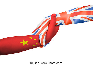 Helping hands of United Kingdom and China