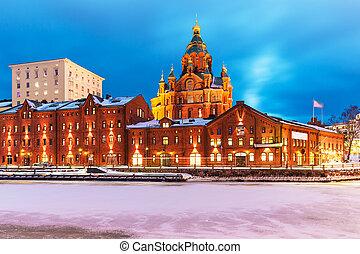 helsínquia, finland, inverno