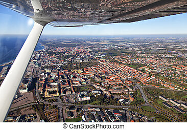 helsingborg, 空中写真