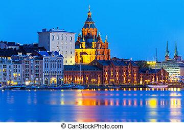 helsinki, cathédrale, finlande, uspensky