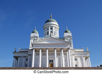 Helsinki Cathedral - Evangelical Lutheran Church located in ...