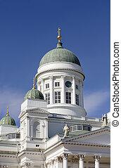 """Helsinki Cathedral \""""Tuomiokirkko\"""" located in Senaatintori,..."""