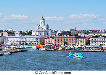 Helsinki, view from the sea - Helsinki, Finland. View from ...