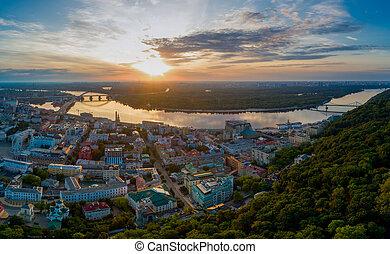 Hem aerial view. Kiev. Ukraine