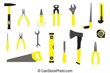hem, hand verktyg, reparera