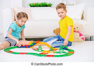 Hem, leka, tillsammans
