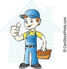 hem, repairman
