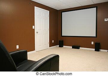 hem- theater, film
