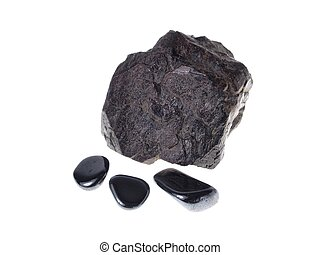 Hematite. Origin: Italy/Brazil - studio isolated photo