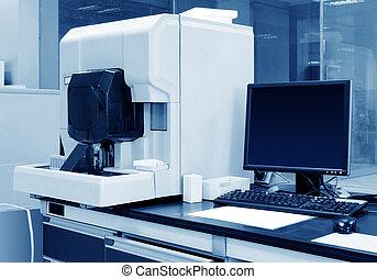 Hematology analyzer and computer Hospital