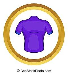 hemd, pictogram, cycling