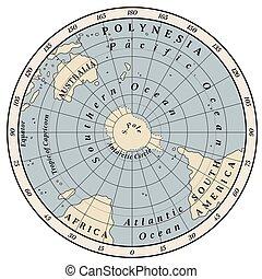 hemisferio, meridional