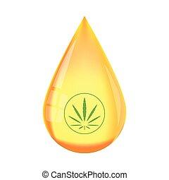 Hemp liquid cbd oil tincture concentrate drop vector. CBD oil benefits, Medical uses for cbd oil