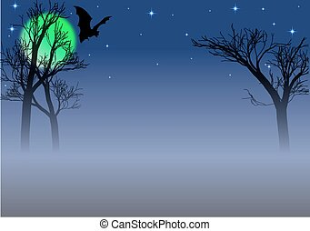 hemsökt av spöken, bakgrund