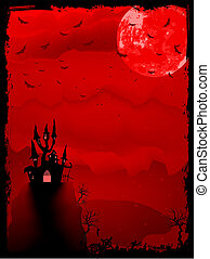 hemsökt av spöken, halloween, eps, horror., 8, komposition