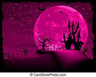 hemsökt av spöken, halloween, eps, inbjudan, 8, castle.