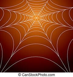 hemsökt av spöken, spindlar, nät