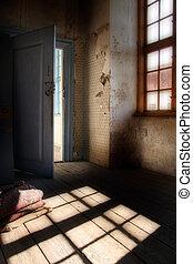 hemsökt av spöken, vindsvåning, rum