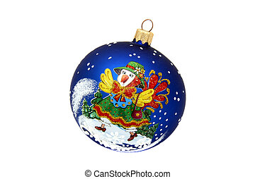 Hen ball christmas tree toy
