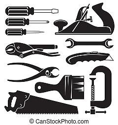 hend, ferramentas