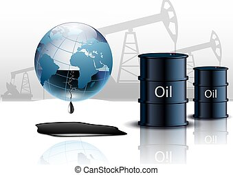 hengerek, ipari, energia, gép, pumpa, olaj berendezés
