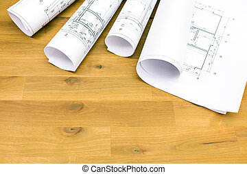 hengermű, építészeti, alaprajzok