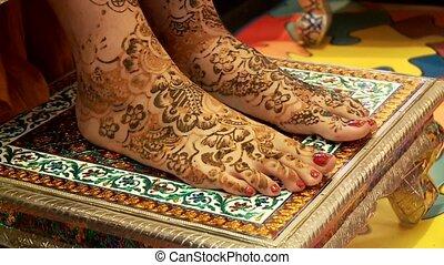 Henna Evening, India