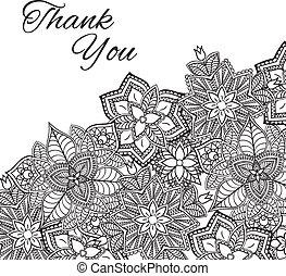 Henna mehndi card template mehndi invitation design vector