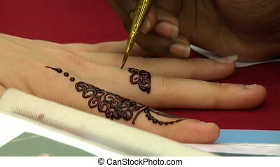Henna Hand Painting In George Town, Penang - Extreme...