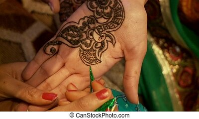 Henna On Hand (Indian Wedding)
