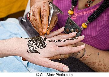 Henna Tattoo #2