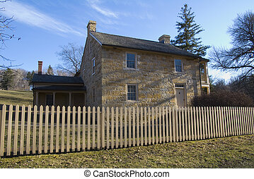 Henry Hastings Sibley House Front - Photo of Henry Hastings...