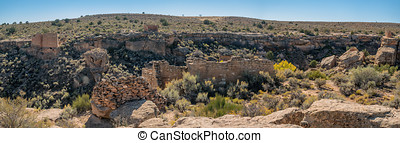 Henweep National Monument in Colorado and Utah