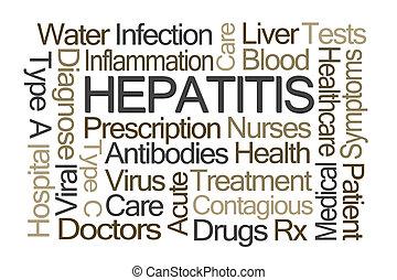 hepatitis, woord, wolk