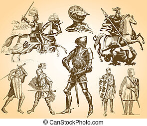 heráldica, cavaleiros
