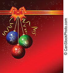 herék, karácsony, háttér