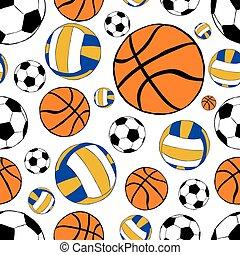 herék, seamless, sport