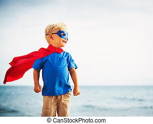 herói super