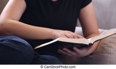Her Bible Study Devotional Time