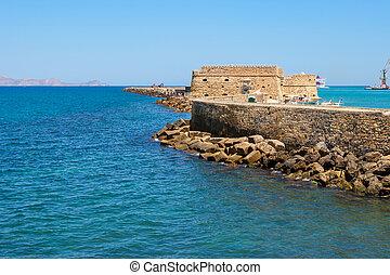 Heraklion Fortress. Crete, Greece