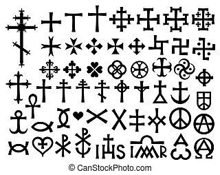 heraldic, 十字, モノグラム