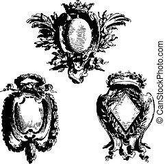 heraldic, 古い